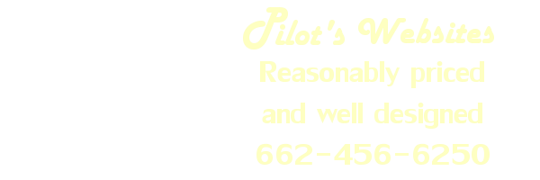 Pilot's Inc. Demo Website Advertisement, Aberdeen Ms, Houston Mississippi, Amory MS, Okolona, Nettleton, Monroe County Ms