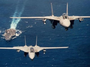 F-14's from carrier